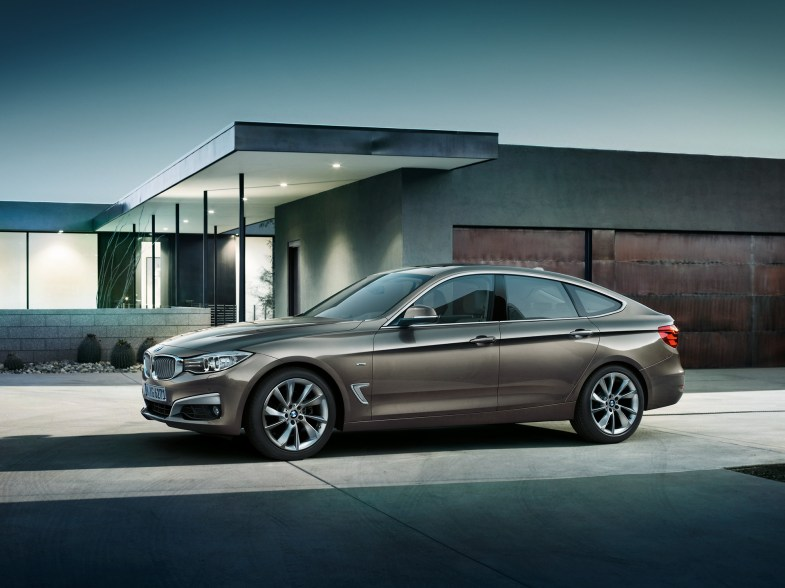 2014 BMW 3 series GT side profile