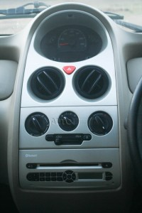2014 Tata Nano twist center console