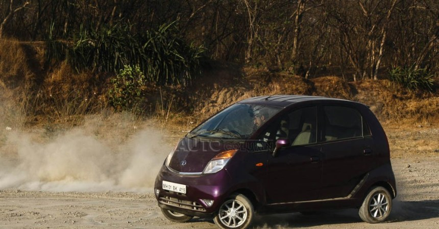2014 Tata Nano twist in action 1