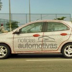 2015 Ford Figo (Ford Ka) hatchback caught in Brazil with less camouflage