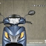 Honda Activa 125cc automatic scooter brochure leaks