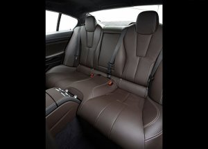2014 BMW M6 Gran Coupe rear seats