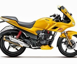 2014 Hero Karizma in Yellow Colour