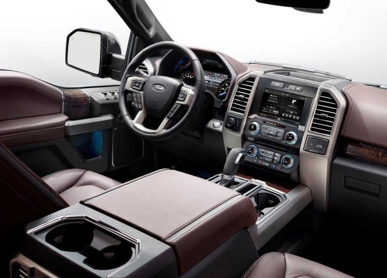 2015 Ford F150 dashboard