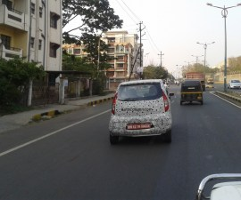 2015 Tata Nano Active Twist AMT spyshot rear