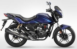2014 CBZ Xtreme by Hero in blue colour
