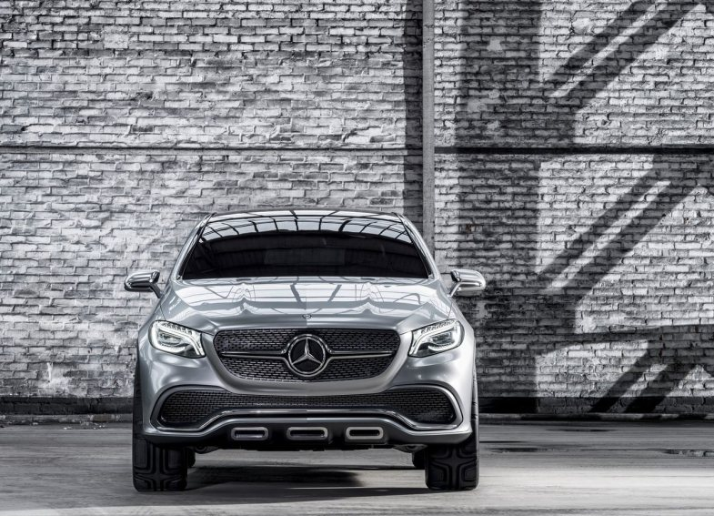 Mercedes-Benz Coupe SUV concept front view