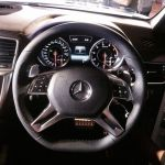 Mercedes Benz GL63 AMG steering