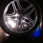 Mercedes Benz GL63 AMG wheel