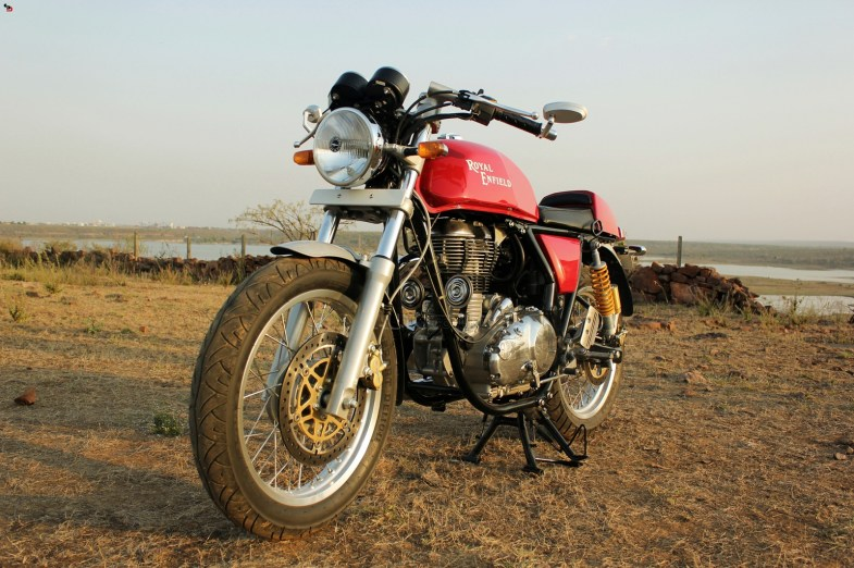 Royal Enfield Continental GT front