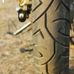 Royal Enfield Continental GT rear tire