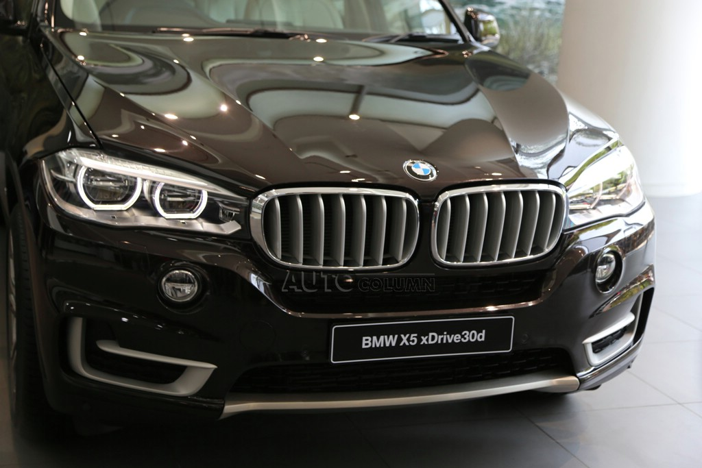 2014 BMW X5 front closeup
