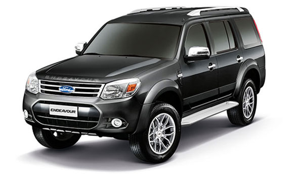 2014 Ford Endeavour in India