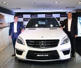 Mercedes Benz ML63 AMG launched in India
