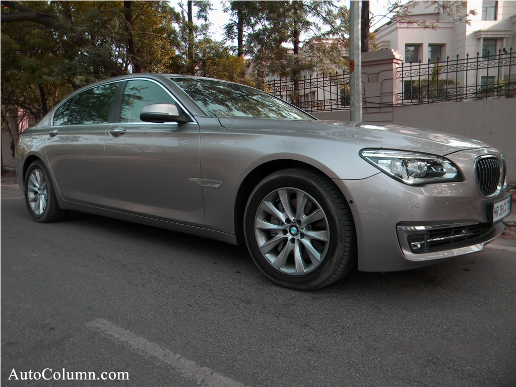 2014 BMW 7 series front three quarters