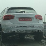 2014 Mercedes-Benz GLA Spotted in India