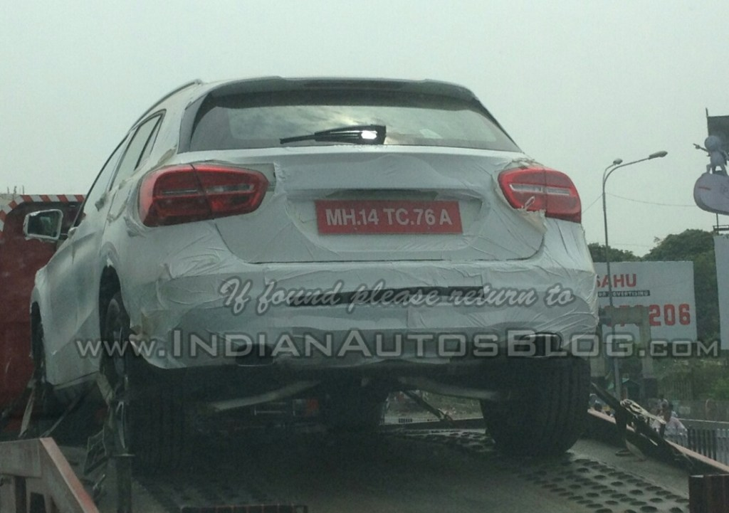2014 Mercedes Benz GLA in India
