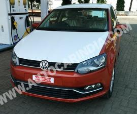 2014 VW Polo facelift in production body