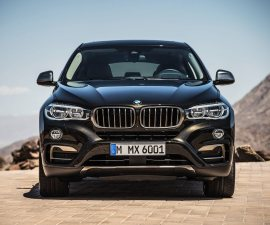 2015 BMW X6 front