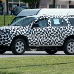 2015 Ford Endeavour Spied