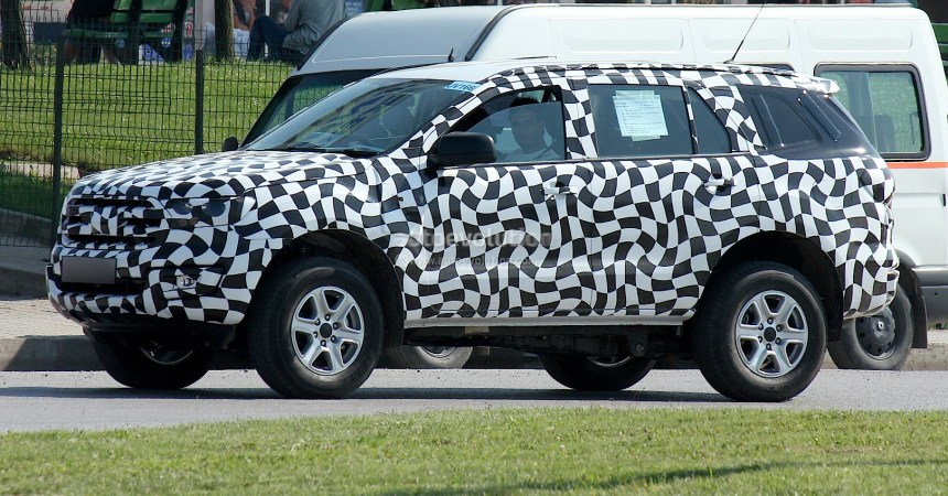 2015 Ford Endeavour production version side view