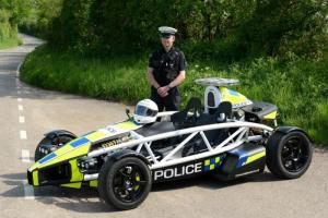 Arial Atom with British police