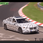 2016 BMW 7-Series Caught On Video