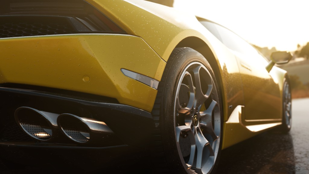 Lamborghini Huracan rims and exhaust