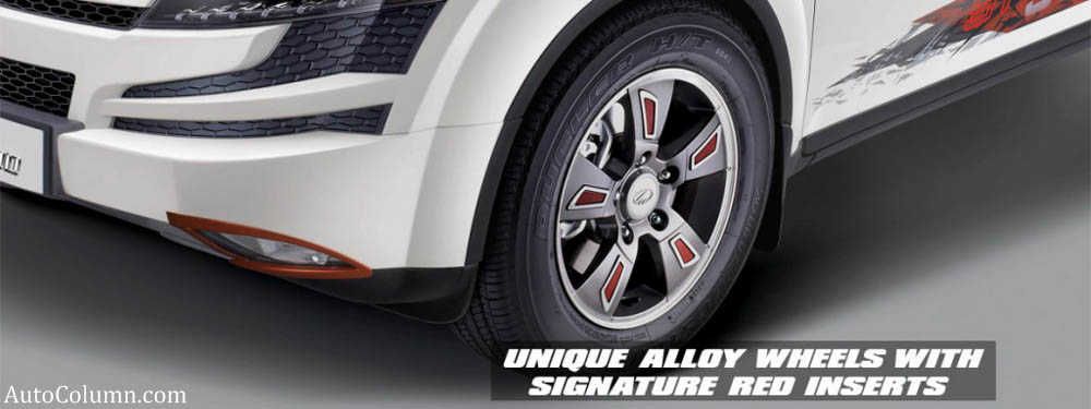 2014 Mahindra XUV 500 sportz edition wheels