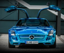 SLS AMG electric drive front