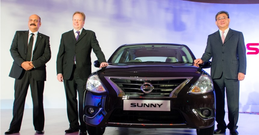 2014 Nissan Sunny launched in India