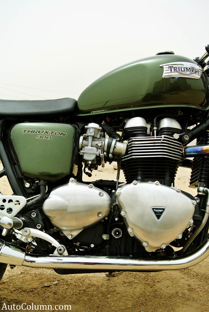 2014 Triumph Thruxton 900 engine