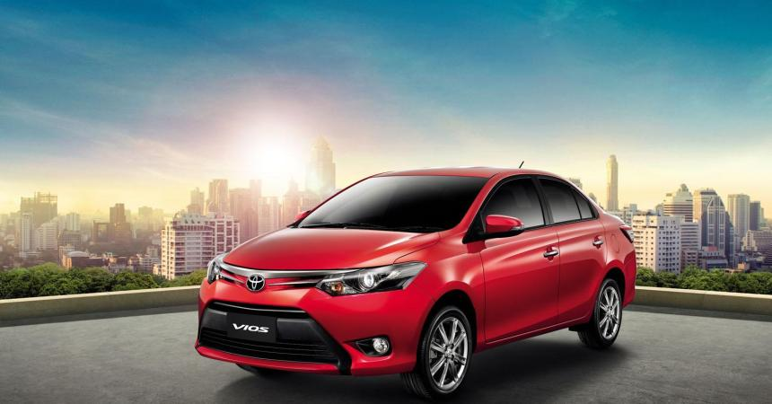 2014 Toyota Vios front three quarters