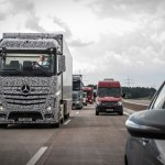 Demonstration of self-driving trucks by Daimler