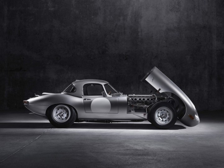 2014 Jaguar Lightweight GT E type front end
