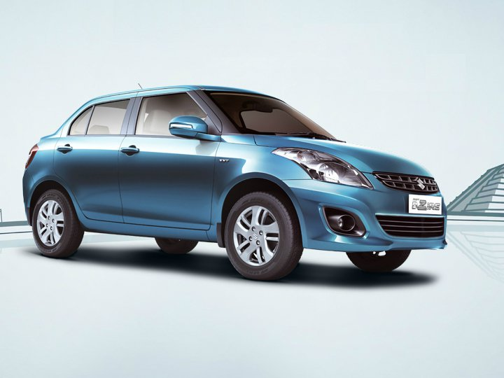 2014 Suzuki Swift DZire side profile