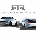 Teaser- The 2015 Ford Mustang RTR sketches revealed