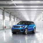 Land Rover unveiled the 2015 Range Rover Sport SVR