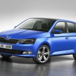 The all new 2015 Skoda Fabia breaks cover