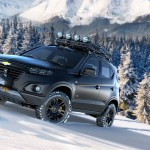 Chevrolet unveils the Chevrolet Niva concept at the 2014 Moscow Motor Show