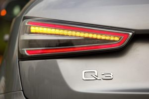 2014 Audi Q3 Dynamic tail lamp