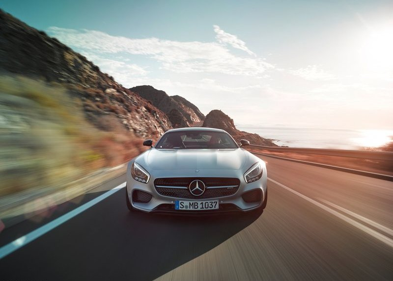 2016 Mercedes Benz AMG GT front