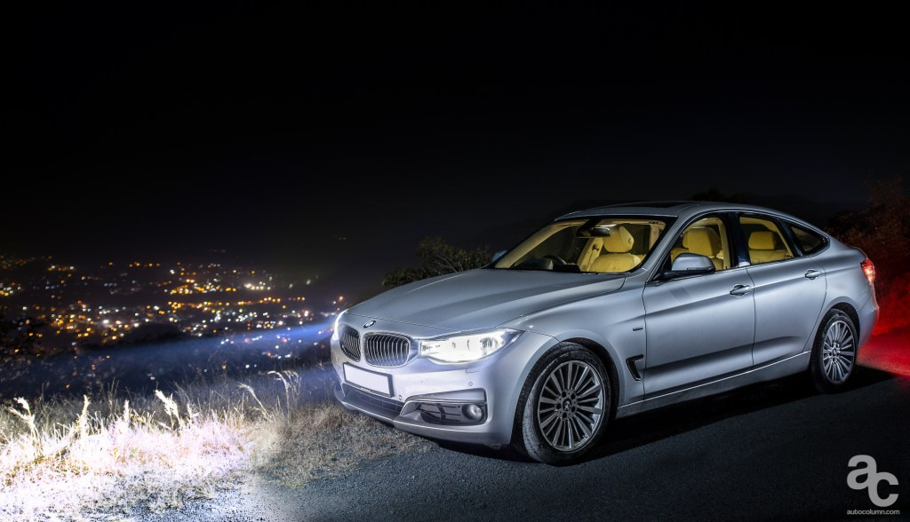 2014-BMW-3GT-India-night-shot