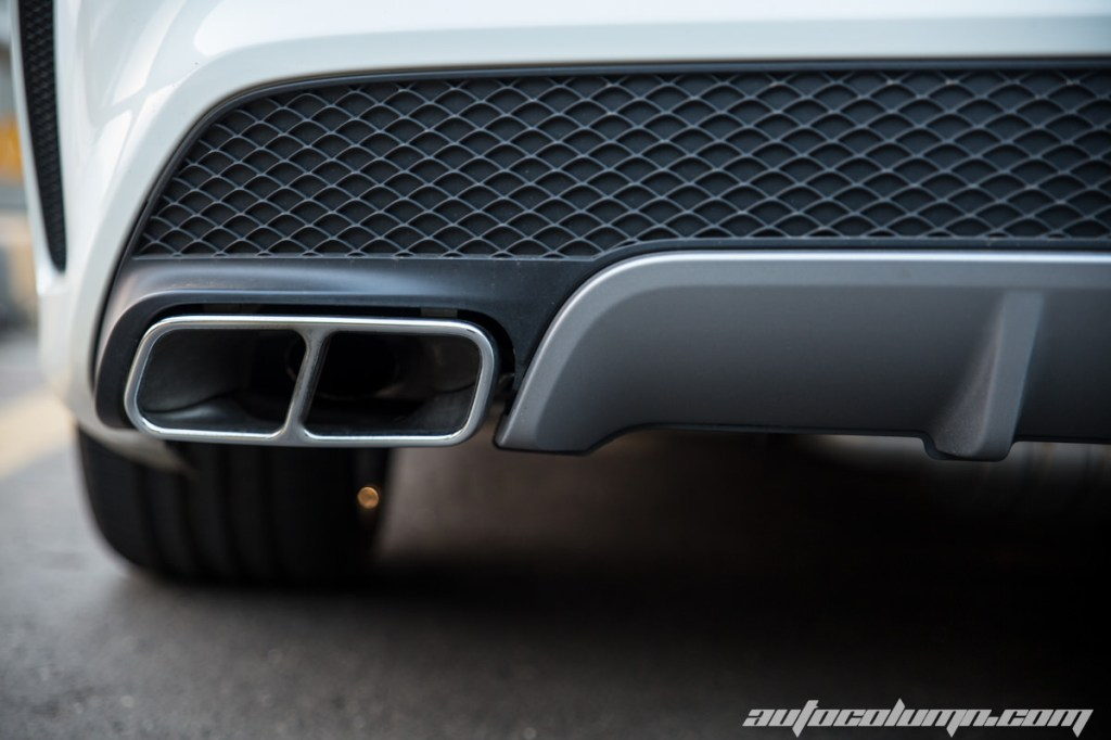 Mercedes Benz CLA45 AMG exhaust tip