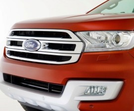 2015 Ford Endeavour grille