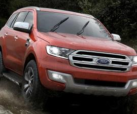 2015 Ford Endeavour front