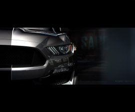 2016 Ford Mustang Shelby GT350 headlamp