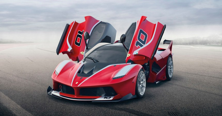 2014-LaFerrari FXX K - Front Three Quarters