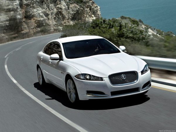 Jaguar-XF-Front-Angle-White