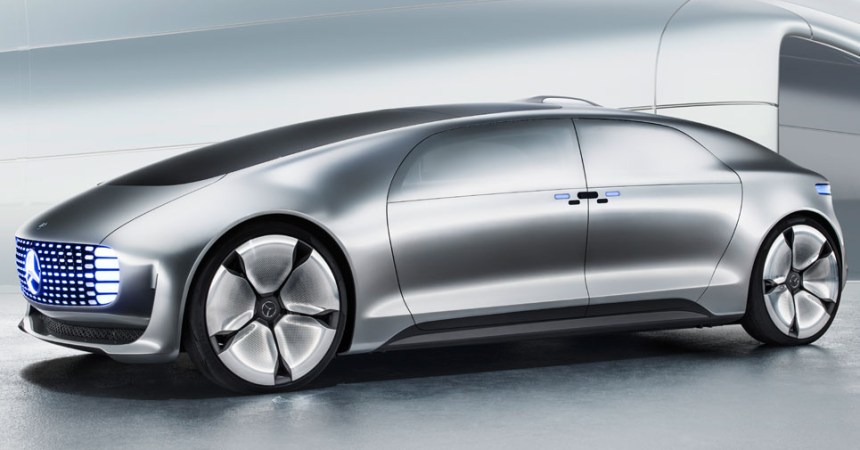 2015 Mercedes F015 - Front Three Quarters
